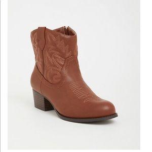 Torrid Wide-Width Cowboy Booties